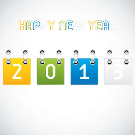 Happy New Year vector Vector