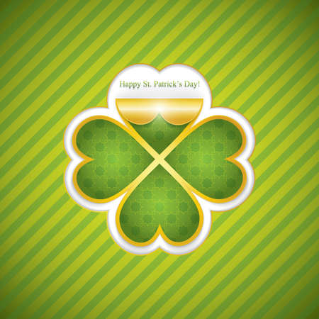 St. Patricks day background Vector