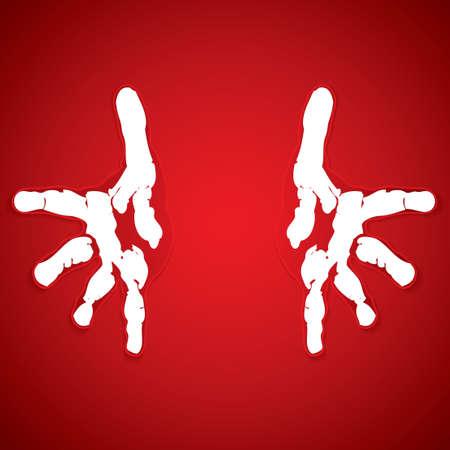 simbolo de paz: Ayudar vector manos