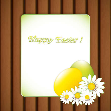 Easter background Stock Vector - 18345224