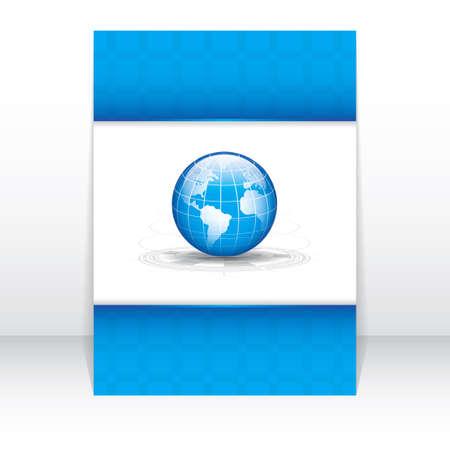 Vector business brochure, flyer template Stock Vector - 20307368