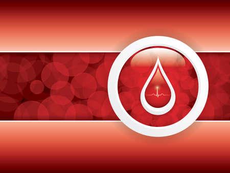 simbolo medicina: Donaci?n de sangre. Antecedentes m?dicos