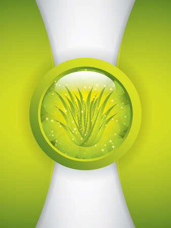 Aloe Vera concept design Stock Vector - 22617206
