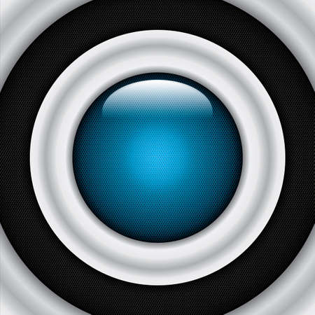 Abstract background, metallic blue brochure, vector Stock Vector - 22618569