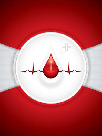 blood donation: Blood donation vector.Medical background
