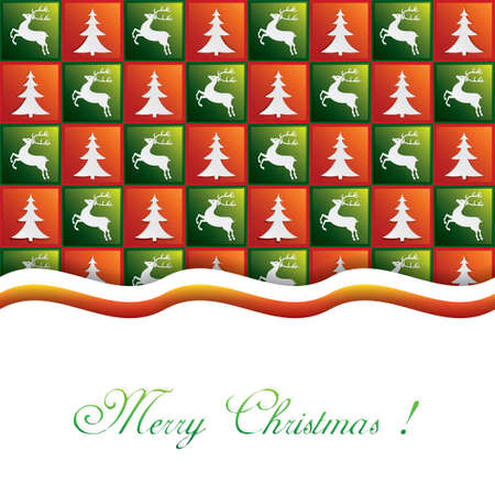 Christmas background.Pattern vector Vector