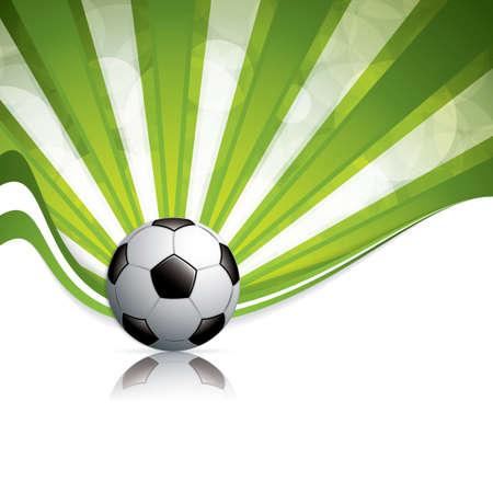 Soccer ball background.Vector