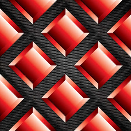 cars racing: Abstract background, metallic red brochure, vector Illustration