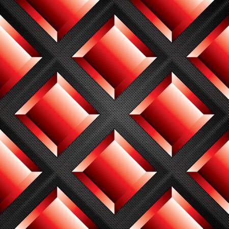 Abstract background, metallic red brochure, vector 向量圖像