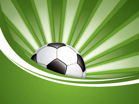 goal kick: Soccer ball background.