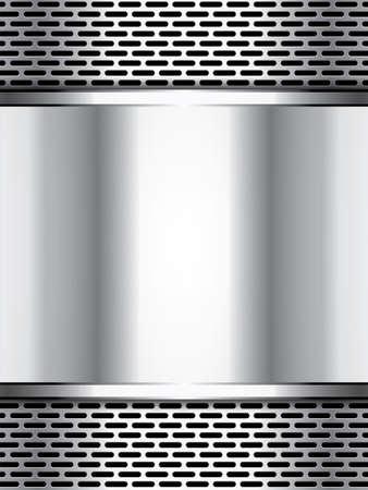 metallic background: Abstract background, metallic brochure Illustration