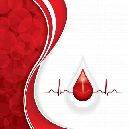 Blood donation vector.Medical background