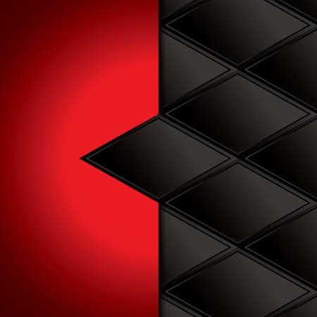metallic background: Abstract background metallic red brochure vector