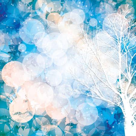 textures: Winter-Hintergrund mit Beleuchtung effect.Vector