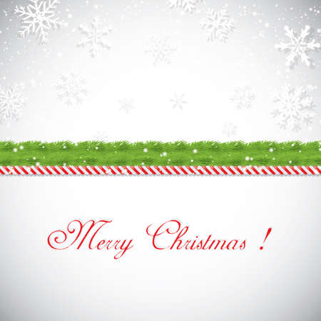 cane: Christmas frame. Vector illustration Illustration
