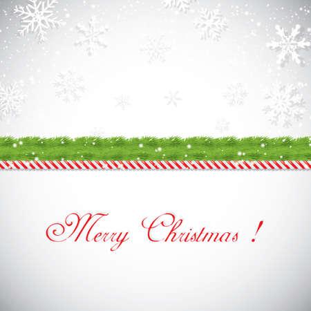 marcos decorados: Marco de la Navidad. ilustración vectorial
