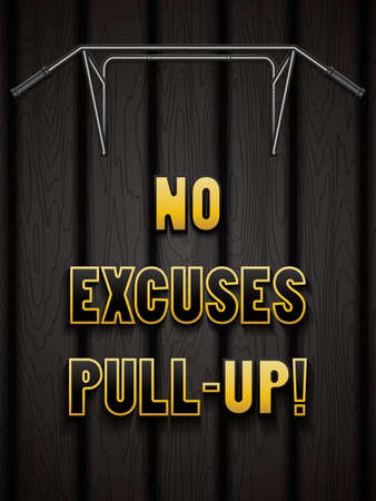 pull up: No excuses pull-up.