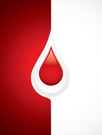 set the intention: Blood donation vector.Medical background
