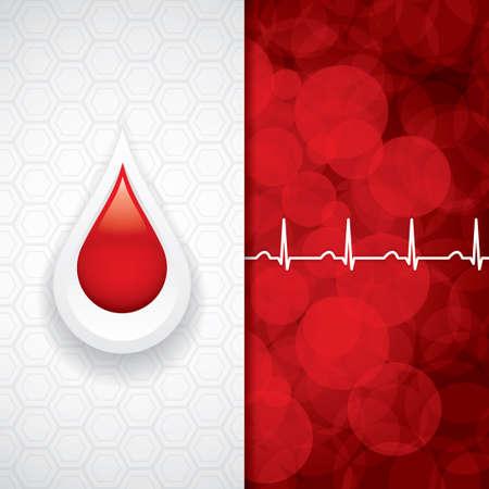 medicine background: Blood donation vector.Medical background