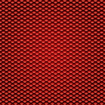 squama: Red squama background.Seamless pattern