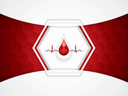 alternative living: Blood donation vector.Medical background