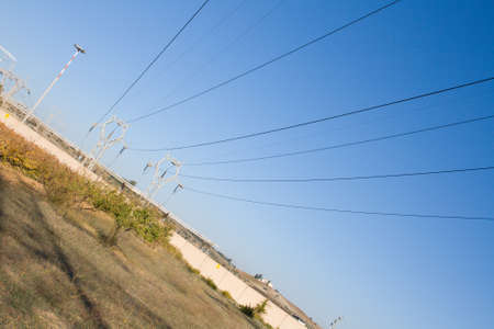 high voltage cables photo