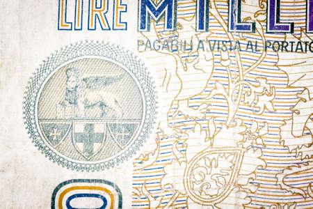 leon alado: Le�n con alas Rep�blica de Venecia. En un viejo proyecto de ley italiano