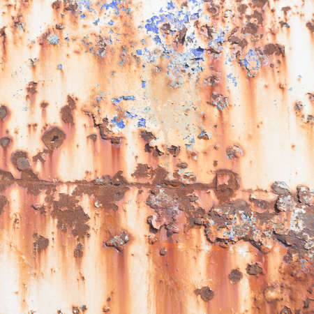 rusted background: Inside the rust. Rusted Background . Stock Photo