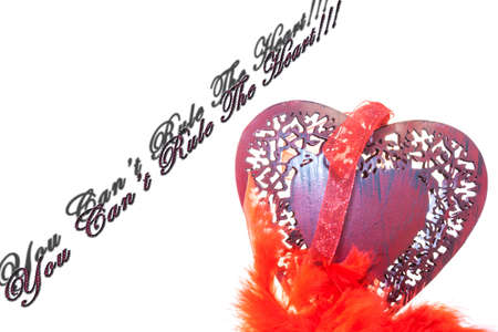 cant: Wooden red hearth. You Cant Rule The heart!!!