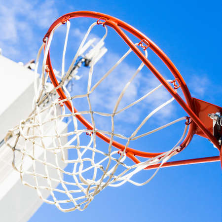 close up image: Inside of a basketball. Close up image of a basketball
