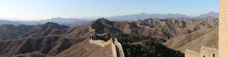 The Great Wall - Panorama Stock Photo - 12087533