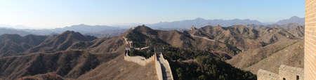 The Great Wall - Panorama Standard-Bild