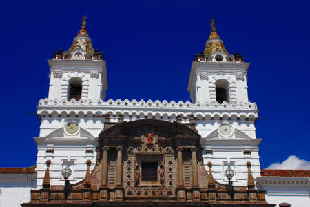 Monasterio de San Francisco, la m�s antigua iglesia en Quito, Ecuador photo