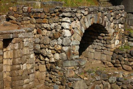 cuenca: Traditional stone Inca oven in Cuenca, Ecuador  Stock Photo