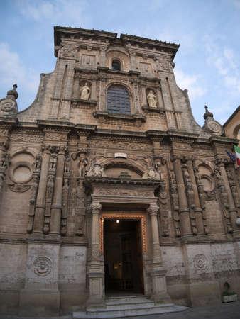 Old characteristic romanic church in Nardo�, Italy Stock Photo - 85445603