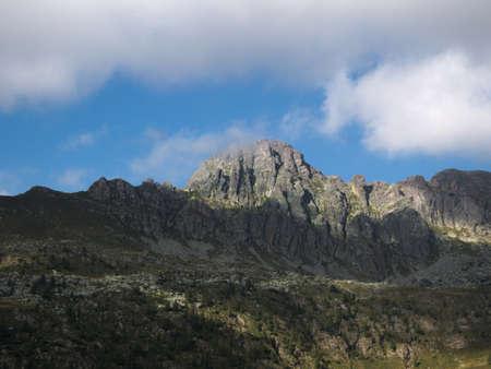 Pizzo del becco peak on the Bergamo Alps, northern Italy Stock Photo - 85265464