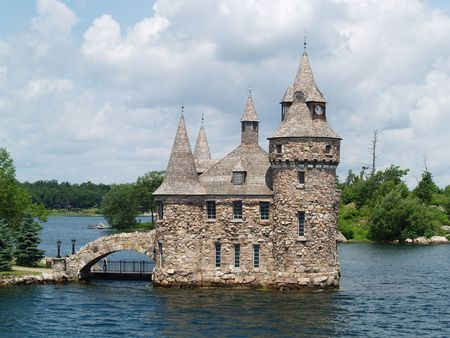 castel: castle on a lake