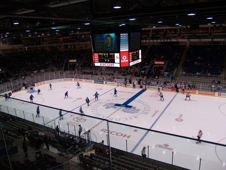 arena: hockey arena