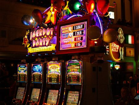 slot machine Stock Photo - 775392