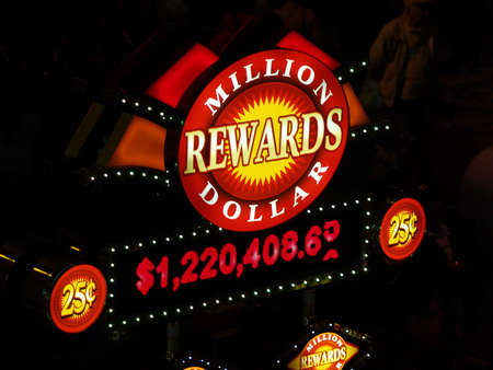slot machine reward Stock Photo - 775394