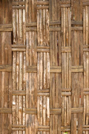 indonesian bamboo wall, vertical  position