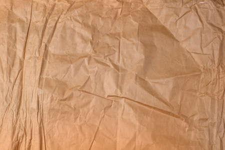 crumple: texture of crumple brown paper