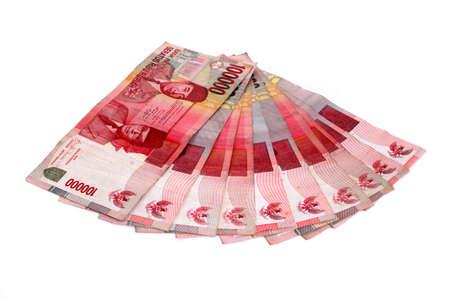 Rupiah - Indonesian Money  Stock Photo