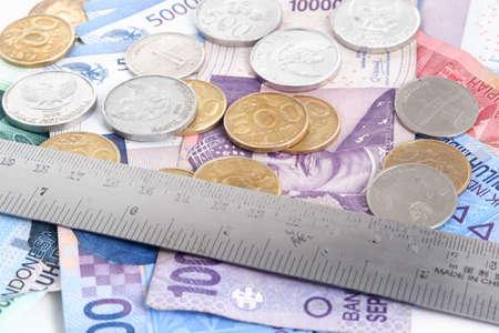 rupiah, cost control concept