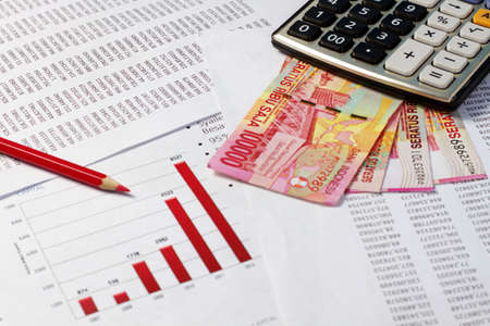 Finanzielle oder Accounting-Konzept Standard-Bild - 20628726
