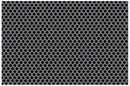 Pattern - Black Dots Vector