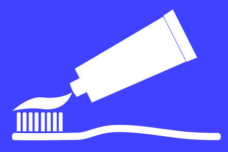 paste: Tooth Paste and Tooth Brush Illustration