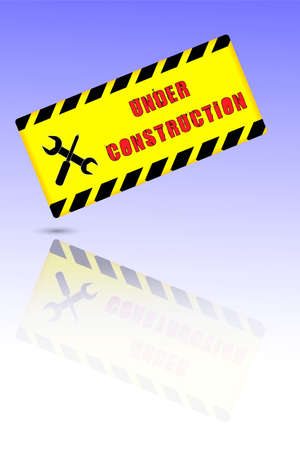 disturbance: Sign - Under Construction