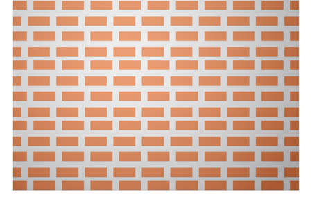 clippings: old red brick wall