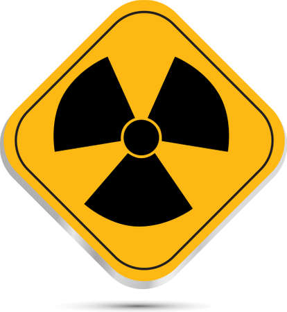 isotope: Radiation hazard symbol sign Illustration